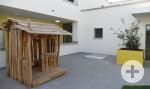 Dachterrasse Kindergartenaußenstelle Schatzinsel Riedpark