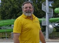 Bademeister Wolfgang Kromer